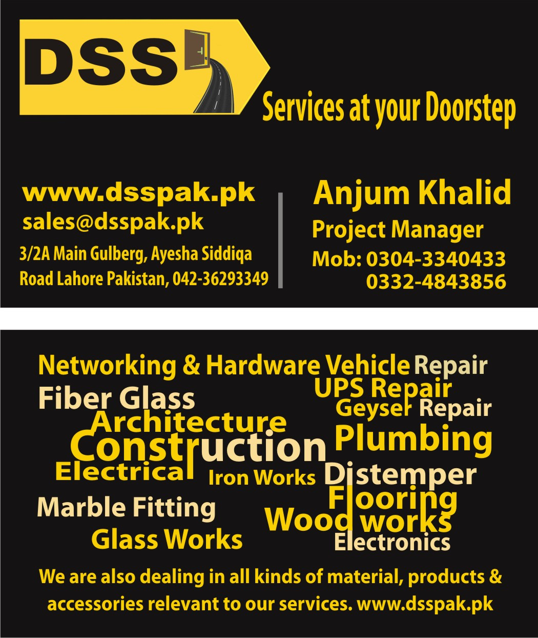 Professional Handyman Services – My Tameer